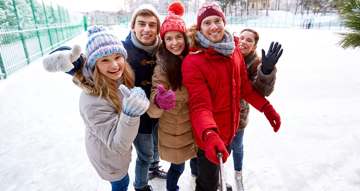 Куда пойти с друзьями на новогодние каникулы в Москве