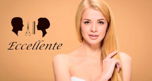 Скидки до 100% на услуги парикмахерской Eccellent
