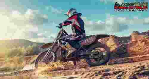 Скидки до 77% на катание на мотоцикле или питбайке