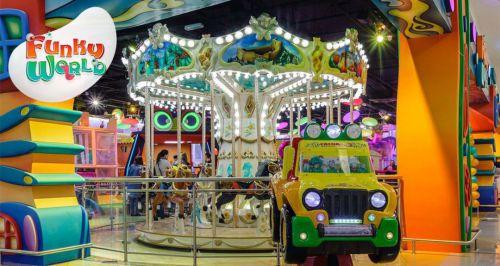 Скидка 50% в семейном парке Funky World в ТЦ «Метрополис»