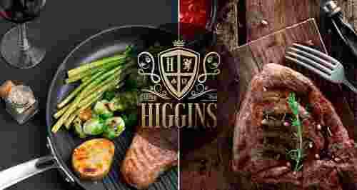 Скидка 50% в рестобаре Higgins в Приморском
