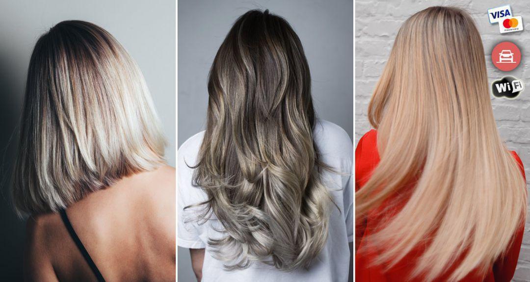 Скидки до 100% на уход за волосами в студии в центре города