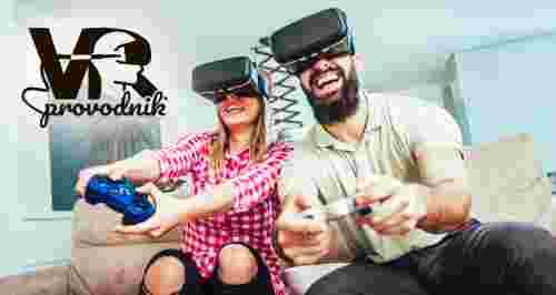 Скидка 50% на игру в виртуальной реальности в любой день