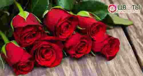 Скидки до 75% на букеты роз из Кении и Эквадора