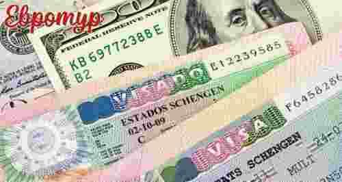 5350 р. за финскую визу, 4590 р. за литовскую визу