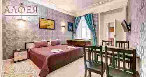 Скидка 50% на проживание в мини-отеле «Алфея»