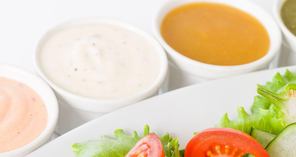 Оригинальные заправки для листовых салатов: 6 идей
