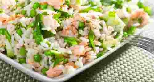 Вкусные салаты с рисом: 3 рецепта