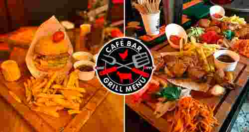 Скидка 50% на меню и напитки в Барбекю Cafe&Grill