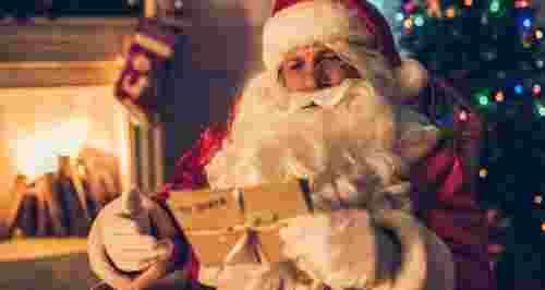 Скидка 50% на поздравление от Деда Мороза