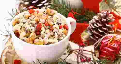 Традиционные русские рождественские блюда