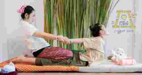 Скидка 20% на массаж в студии йоги «Д-Ом»