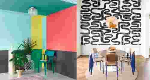 Красим стены как художник: идеи для интерьера
