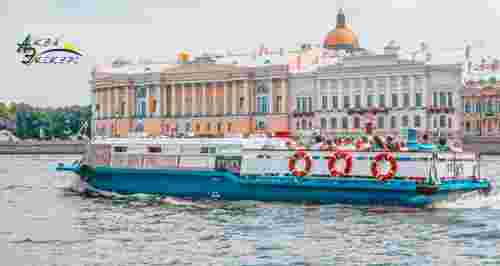 Скидки до 50% на прогулки по рекам и каналам с гидом от судоходной компании «Аква-Экскурс»