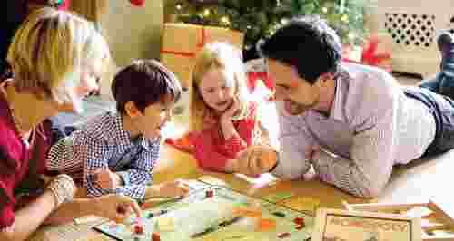 Веселые игры для Нового года в семейном кругу