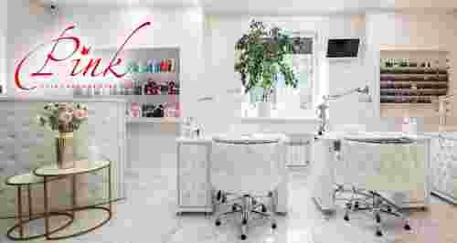 Скидки до 50% на маникюр и педикюр в салоне Pink