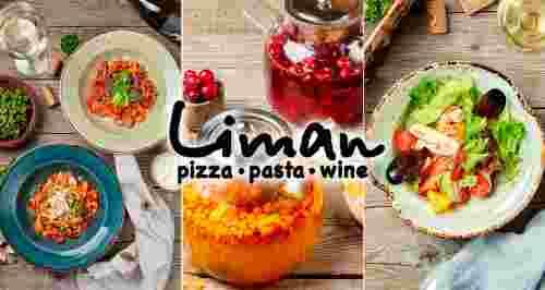 Скидки до 50% на все меню в двух итальянских ресторанах Liman