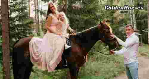 Скидки до 50% на конные прогулки в Токсово