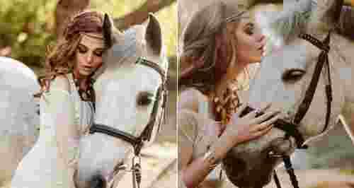 Скидки до 51% на прогулку на лошади с фотографированием