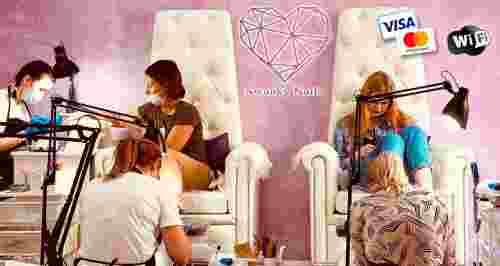 Скидки до 50% на ногтевой сервис студии Swanky Nails
