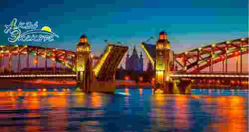 Скидки до 50% на ночные маршруты по рекам и каналам от «Аква-Экскурс»