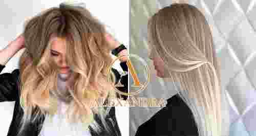 Скидки до 65% на уход за волосами от салона «Александра»