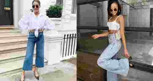 С чем носить брюки-клеш — главный тренд осени 2021