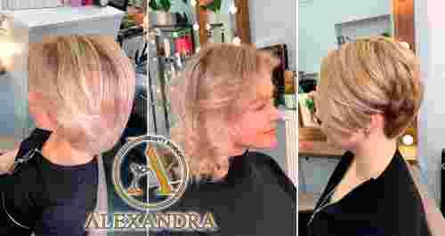 Скидки до 65% на стрижки и окрашивания в салоне «Александра»