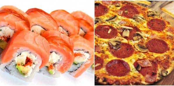 Пицца и суши Bella Italia - вкус проверенный временем!