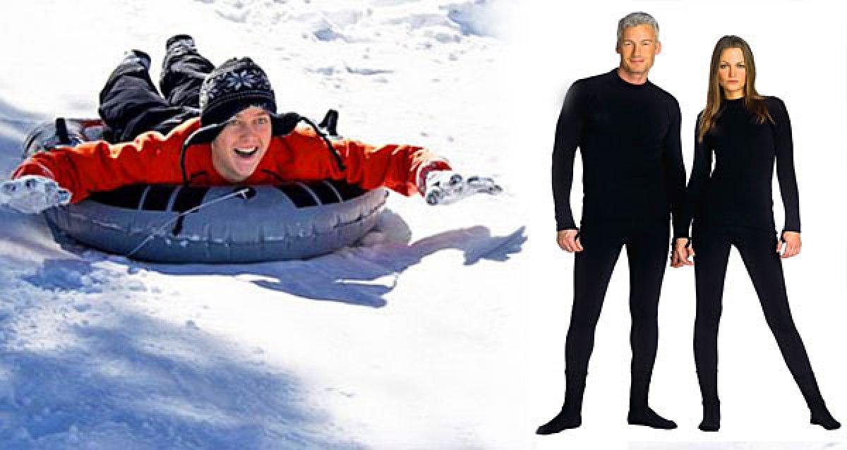 """Термобелье и """"ватрушки"""" для активной зимы!"""