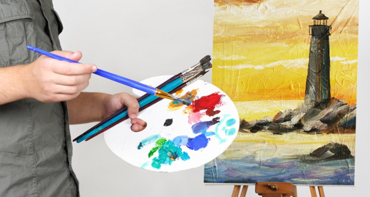 Уроки по рисованию масляной пастелью всего за 950р. от Школы креатива