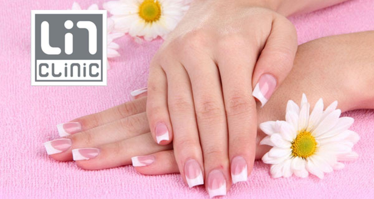 Красивые ногти! Профессиональный маникюр, педикюр и покрытие Shellac со скидками до 80% в «ЛинКлиник»