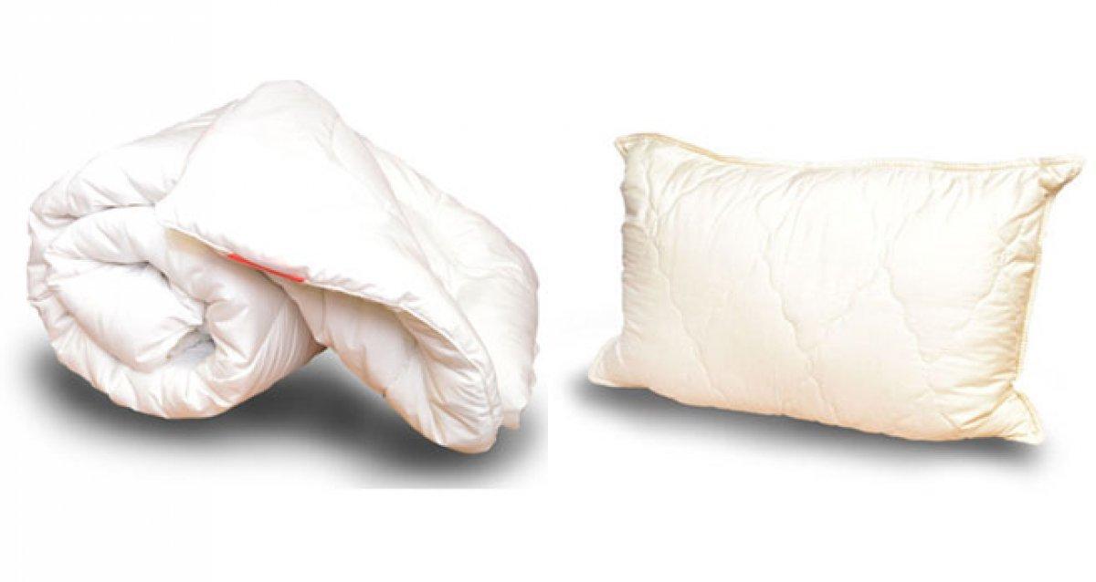 Эко-подушки и одеяла из натурального шелка!