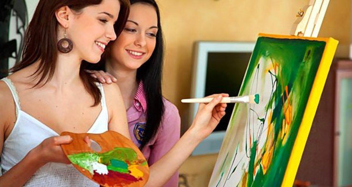 Станьте автором шедевра! 949 р. за мастер-класс по рисованию масляными красками, 2940 р. за правополушарное рисование, 949 р. за эбру