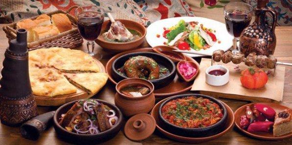 Настоящая грузинская кухня в кафе «Амра» у Сенной! 790 р./чел. за банкет «под ключ» на 2, 7 и более человек