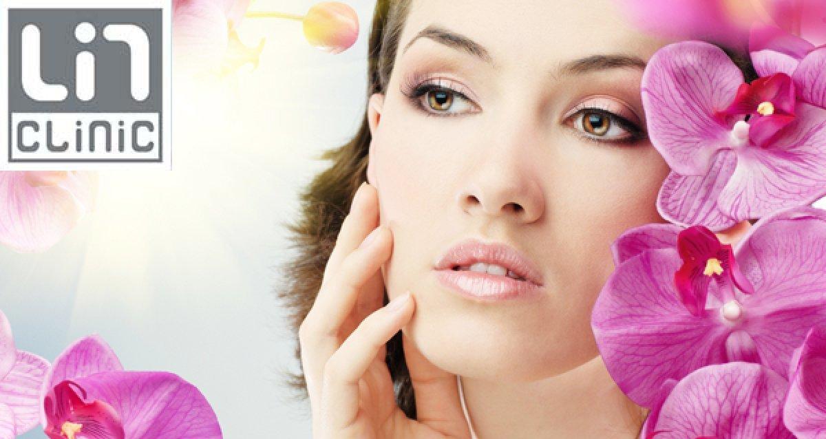Бесплатный криомассаж! Чистки лица, контурная пластика: ботокс, 3D-нити, карбоновый пилинг, E-light омоложение в «ЛинКлиник»
