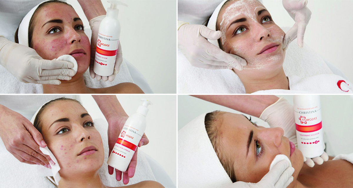 чистка лица комодекс