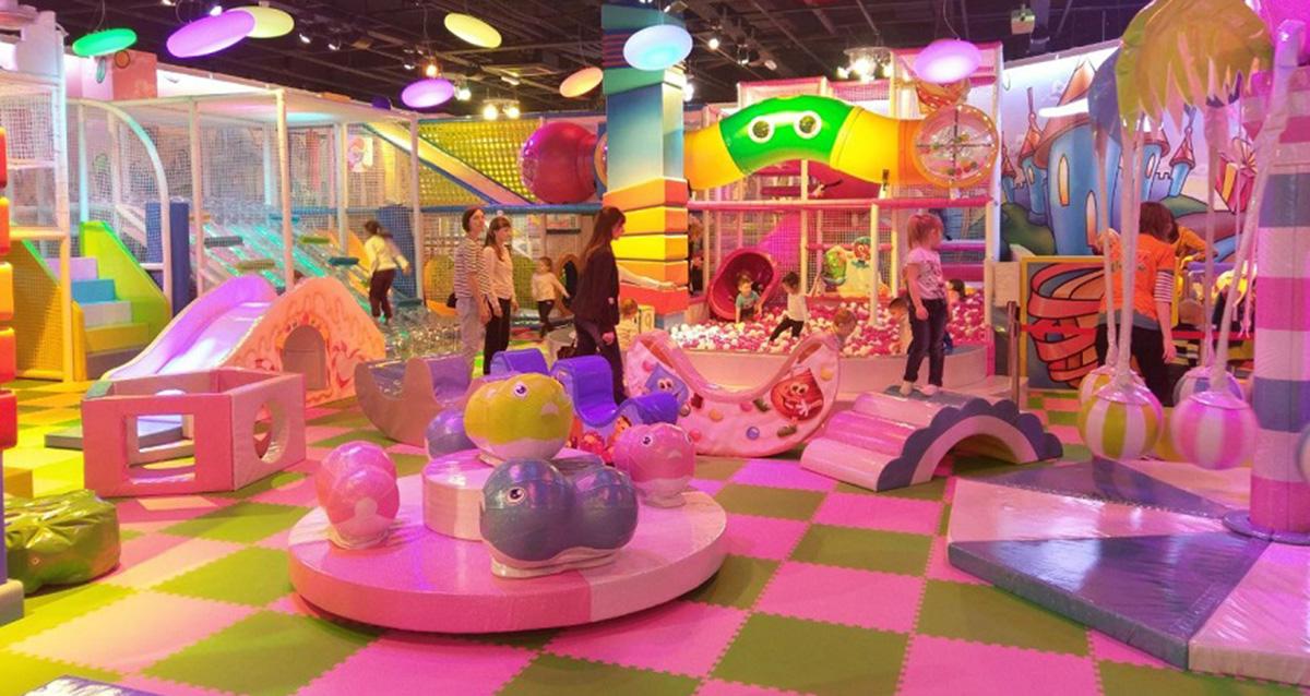 Детский парк развлечений Funky World