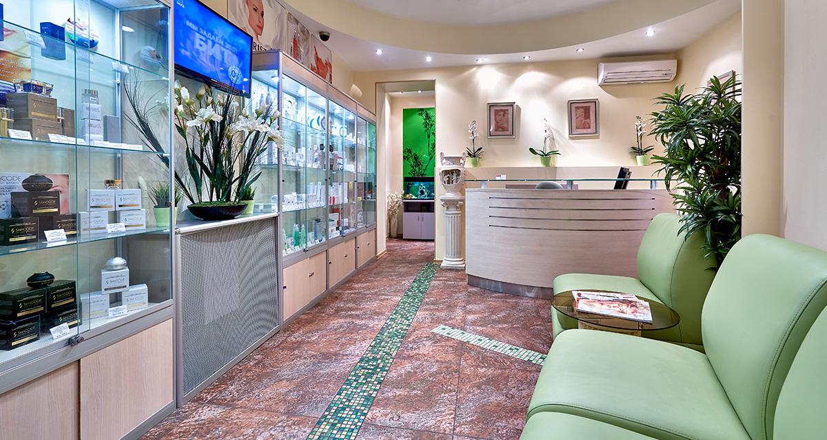 интерьер медицинского центра косметологии «Алтеро»