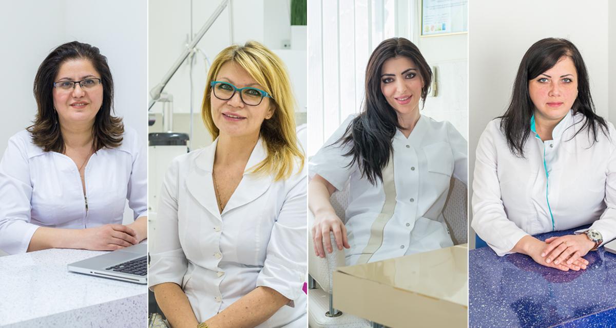 косметологи клиники «Экос-Эстетик»
