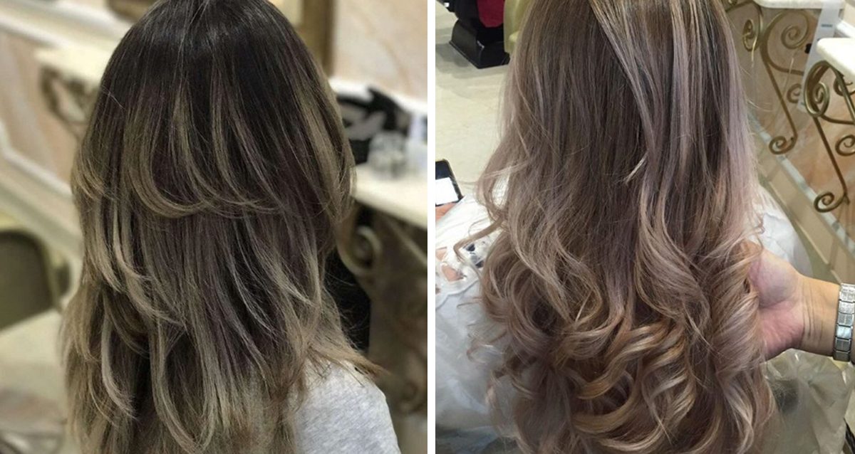сложное окрашивание волос