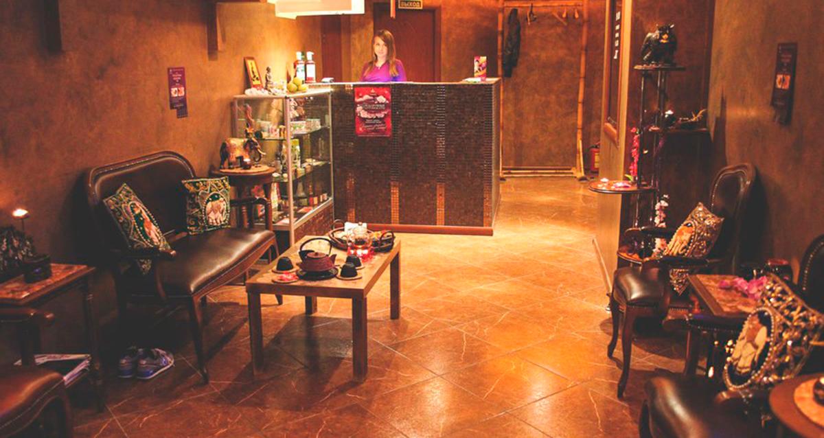 интерьер салона тайского массажа «Тай Рай» на Комсомольской