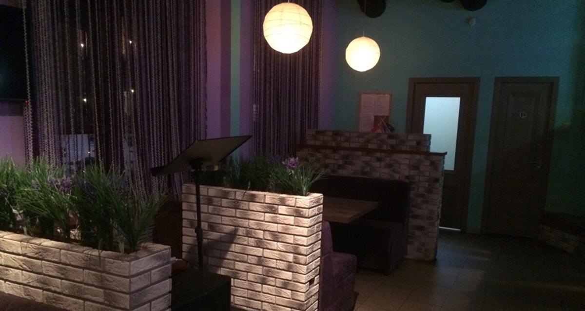 интерьер гриль-бара «Робинзон»