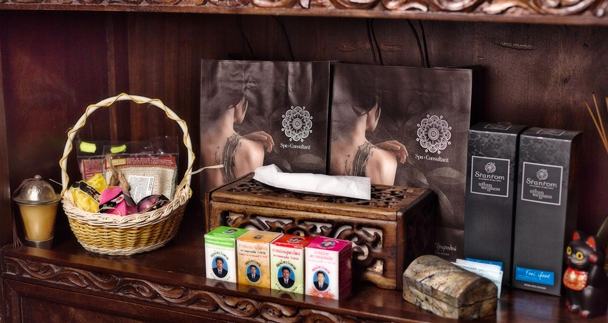 интерьер салона массажа и SPA Thai Seasons