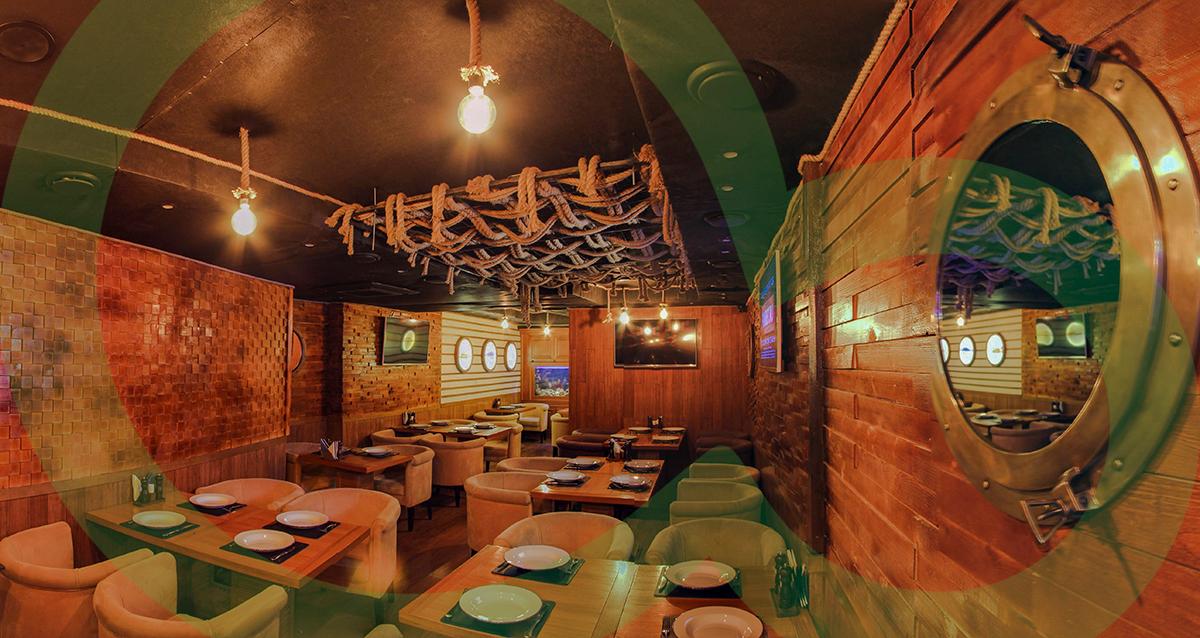 интерьер ресторана Brigante