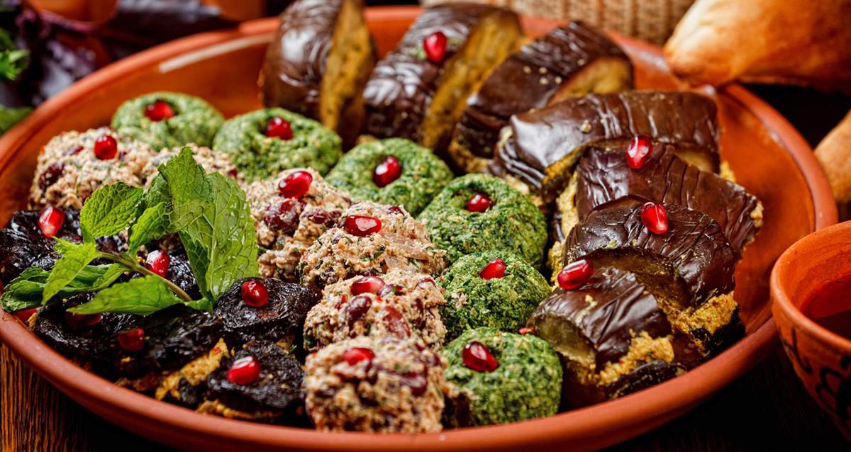 кавказские закуски