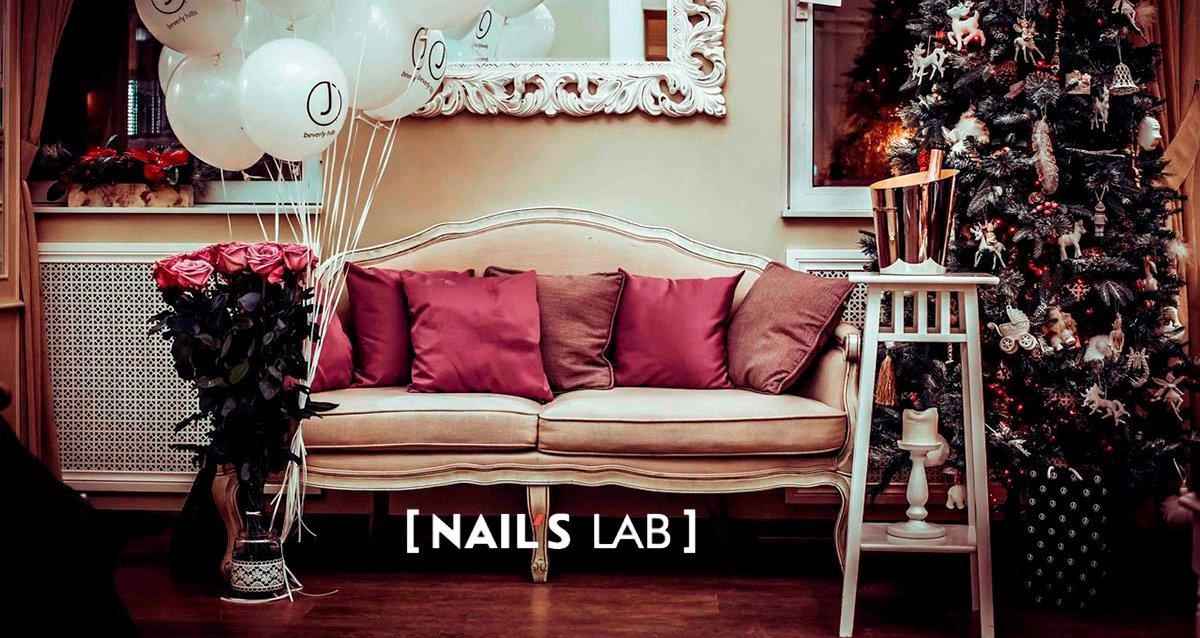 интерьер салона красоты Nails Lab