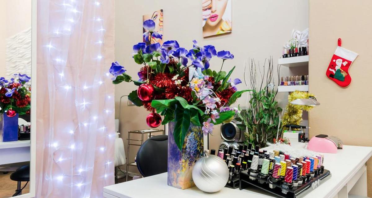 интерьер салона красоты Beauty bar Wosk&Go