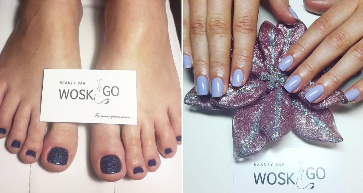 маникюр в Beauty bar Wosk&Go