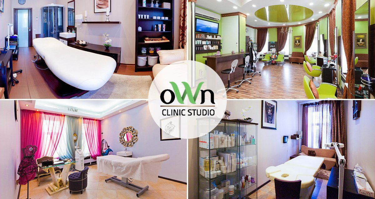 интерьер студия красоты OWN Clinic Studio